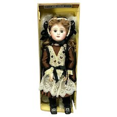 "Jumeau 19"" Paris Bebe 8 - WITH ORIGINAL BOX - Closed-Mouth - Paris Stamped Body - Antique Doll"