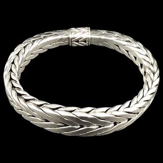 John Hardy  Classic Chain Tapered 10mm M Sterling Bracelet