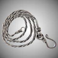 925 Sterling Silver Balinese Necklace
