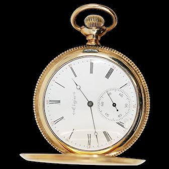 Elgin Pocket Watch Gold Filled Case