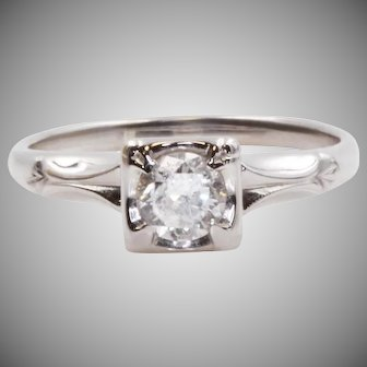 Beautiful Vintage Engagement Ring From A Beautiful Person | 7932