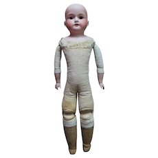 German Bisque Head Doll by Armand Marseille18 inches