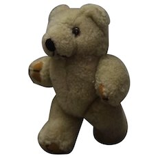 """Small Vintage Teddy Bear Fully Jointed 5"""""""