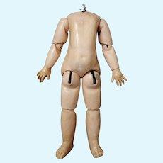 "Antique French Doll Body 14.2"" (36cm)"