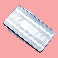 Money Clip Pocket Knife Sterling Silver NOS