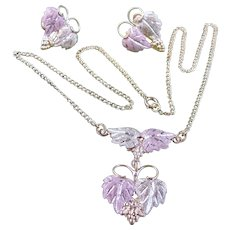 Black Hills Gold Necklace Earrings SET