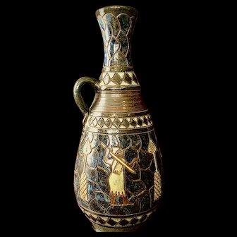 Art Deco Vase by Auguste DuBois