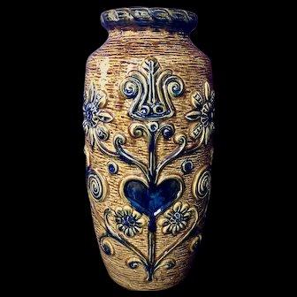 Mid-Century Modern Floor Vase by Bay Ceramics of West Germany