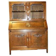 Art Deco era, Arts & Crafts/Mission Front Desk Secretary