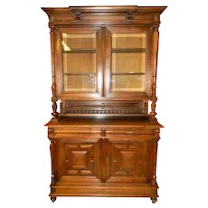 19th Century French Neo-Renaissance Kitchen Cabinet