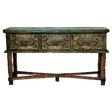 Zamora Rustic Painted Wooden Sideboard