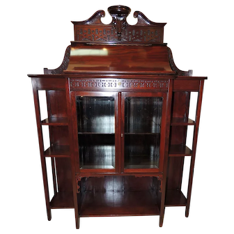 19th Century Early Aesthetic Period Cabinet