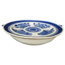 Chinese Export Porcelain Hot Water Plate
