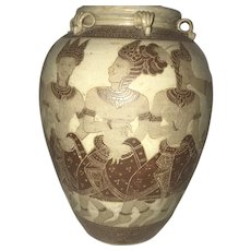 Antique 13 Gods Storage Jar