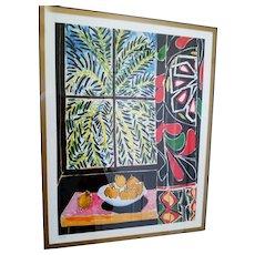 "Henri Matisse ""The Window"" Ltd. Edition Lithograph"