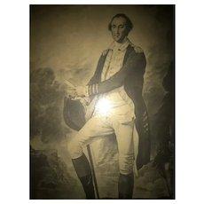 """General Washington"" Engraving by V. Green"