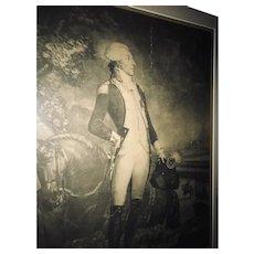 """""""The Marquis De LaFayette"""" Engraving"""