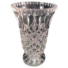 Contemporary Crystal Vase