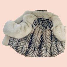 Gerson International Genuine Lynx Fur Coat