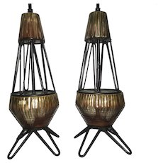 Royal Haeger Mid-Century Lamps-Pair