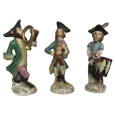 "Andrea Occupied Japan ""Monkey Band"" 3 pc. Group"