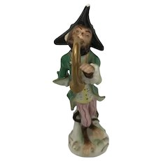 """Monkey Band"" Figurine"