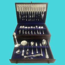 Gorham Chantilly Sterling 104 pc. Sterling Flatware Set