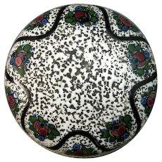 Amphora Alexandra Porcelain Works Ernst Wahliss Dresser Jar Bohemian Arts & Crafts Rose