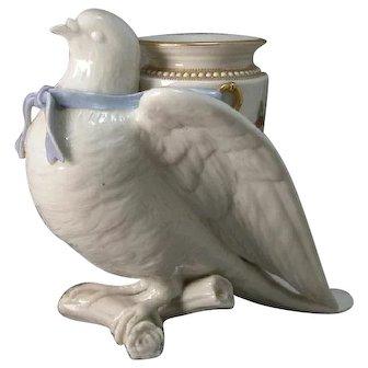 Royal Wocester Dove Vaste Charles Henry Clifford Baldwyn
