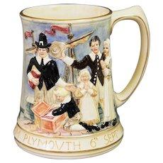 Rare Royal Winton Grimwades Mayfair Plymouth Mug Tankard British American