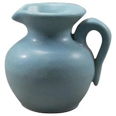Van Briggle Clem Hull (1916-1965) Thrown Creamer American Art Pottery 20th Century