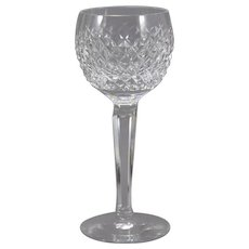 Waterford Alana Hock Wine Glasses Goblets Irish Crystal (4 Available)