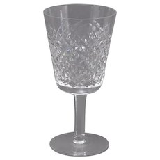 Waterford Alana Water Wine Glasses Goblets Irish Crystal (2 Available)