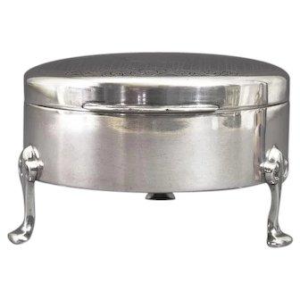 Birks Sterling Silver Ring Box 5 Slot