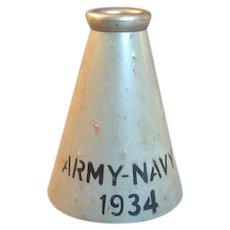 1934 Army Navy Westpoint Football Megaphone Franklin Field
