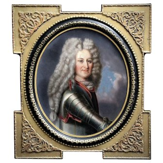 Fine art Oil painting on board, portrait of a Gentleman 19th