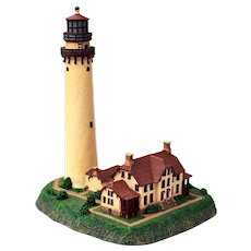 Grosse Point Lighthouse Replica by Danbury Mint