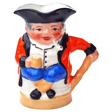 Royal Cauldon Est 1774 Miniature Toby Mug Jug