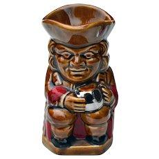 Vintage Lord Nelson Glazed Toby Jug Mug