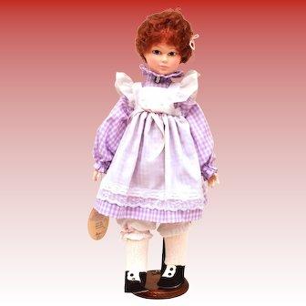 18 inch Effanbee Doll BETH Signed Jan Hagara 1984