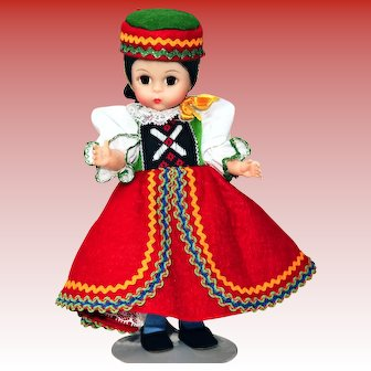 Madame Alexander Doll Czechoslovakia #564 from the International Collection