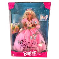 Butterfly Princess Barbie 1994 NEW in Box