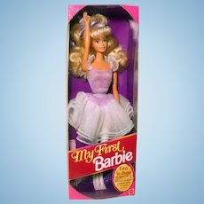 My First Barbie 1993 Ballerina NEW in Box