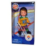 Barbie Kelly Club Doll Ice Hockey Tommy New in Box