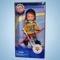 Barbie Kelly Club Doll Ice Hockey Tommy New in Box