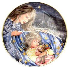 Kaiser Germany Collector Plate WELSH LULLABY All Through the Night