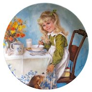 Collector Plate Breakfast by John Mcclelland Becky's Day Reco Plate