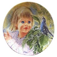 Collector Plate Discovery 1986 by Frances Hook - Edwin M Knowles Fine China