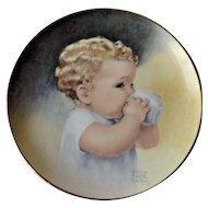 Bessie Pease Gutman Tasting Collector Plate Bundle of Joy Collection 1987