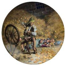 Rumpelstilzchen Rumpelstiltskin Decorative Collector Plate Charles Gehm 1981